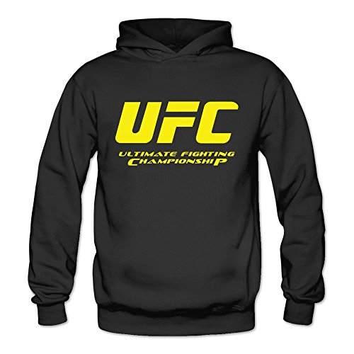 Ultimate College Sports Fan (DCX Clothing Women's Ultimate Fighting Championship UFC Hoodies XXL Black)