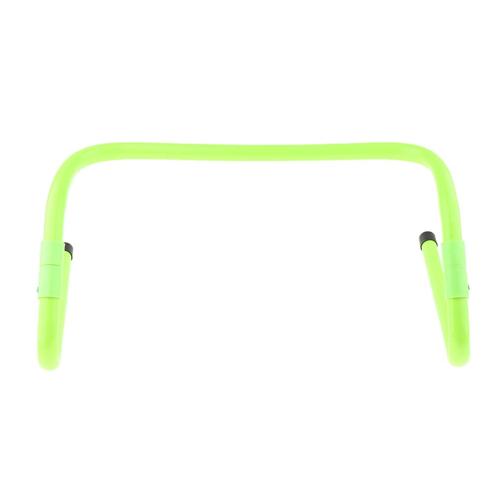 Sports and Speed Training with Maximum Height 15cm//Minimum Height 30cm Prettyia Adjustable Agility Hurdles for Soccer
