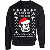 Allntrends Adult Crewneck Sweatshirt Ho Ho Hodor Ugly Christmas Sweater