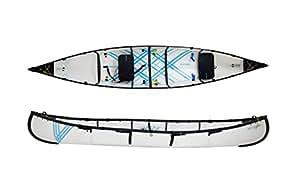 MYCANOE 2.5 Origami Folding Foldable Canoe Portable Collapsible Paddle Boat