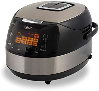 Zilan ZLN9171 Robot da Cocina, 860 W, 5 litros, 30 Decibelios ...
