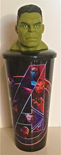 Marvel Comics: Avengers: Infinity War Movie Theater Exclusive 32 oz Cup With Topper Lid Hulk