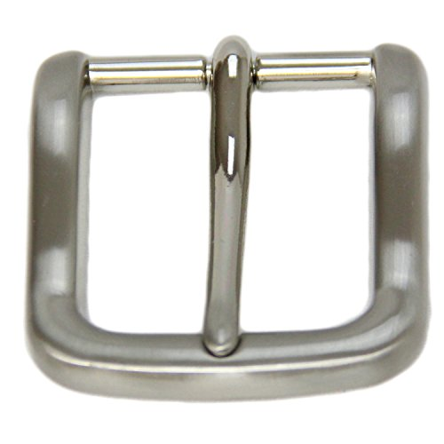 Replacement Belt Buckle For 1 3/8 Inch Width Brushed Nickel (Brushed Nickel Buckle)