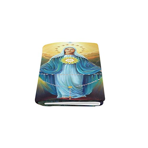 Thanksgiving/Christmas Gifts Christian Religious Virgin Mary Warmer Winter Fleece Throw Plush Blanket 50 x 60 inches (Medium)