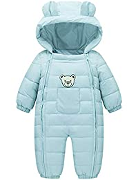 6fc5791cf19 VEKDONE Baby Boys Girls Kids Rompers Winter Thick Cotton Warm Clothes  Jumpsuit