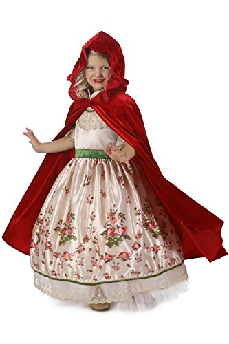 (Princess Paradise Vintage Red Riding Hood Costume, Multicolor,)