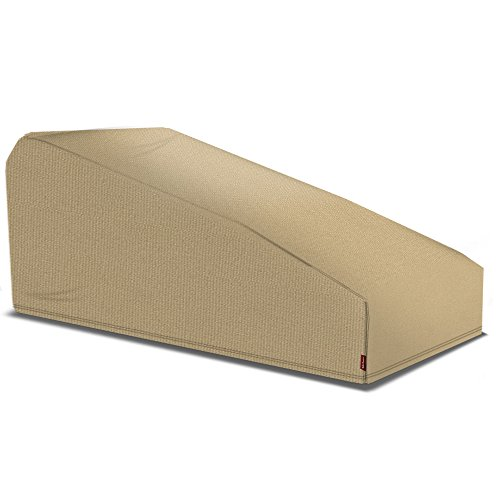 Coverking Universal Outdoor Patio Lounge Chaise, 32'' W x 72'' D x 32'' H, Presidium Tan by Coverking