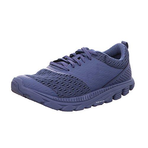 MBT Zapatos de Cordones de Material Sintético Para Hombre Azul Indigo Blue