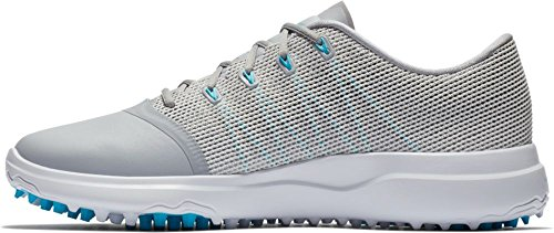 NIKE Women's Lunar Empress 2 Golf Shoes (Wolf Grey/Blue Fury-White-Black, 8.5) by NIKE
