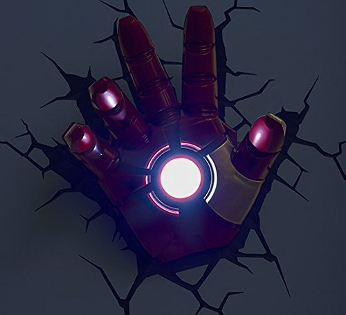 3d light fx marvel iron man hand 3d deco led wall light the 3d light fx marvel iron man hand 3d deco led wall light aloadofball Images