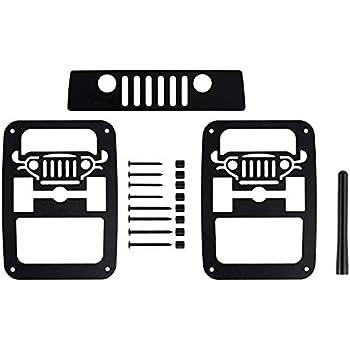 BMS Jeep Wrangler JK//JKU Tail Light Guards AMF3