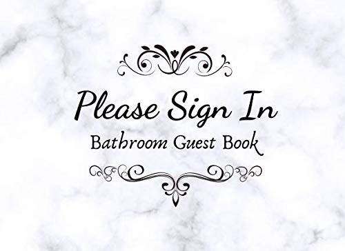 Please Sign In. Bathroom Guestbook.: Funny House Warming Gag -