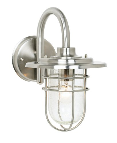 Stratus Collection 12 3 4  High Indoor   Outdoor Wall SconceNautical Light Fixtures  Amazon com. Nautical Indoor Ceiling Lighting. Home Design Ideas