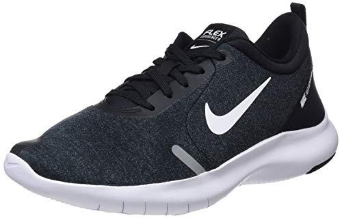 (Nike Women's Flex Experience Run 8 Shoe, Black/White, 9.5 Regular US)