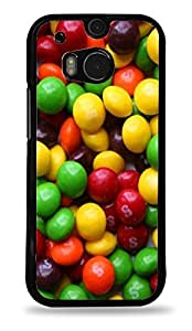 Taste the Rainbow Candy Black Hardshell Case for HTC One M8