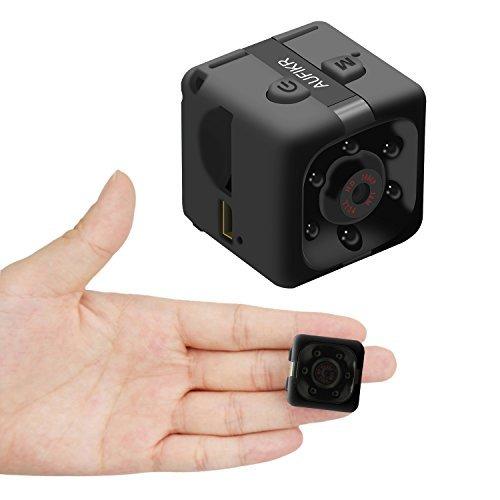 Aufikr Mini Camera Sports HD DV Camera 1080P Portable Tiny Video Camera...
