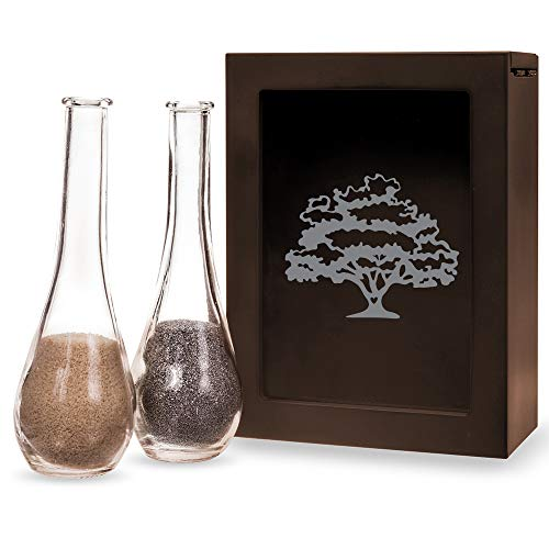 Abby Smith Love Tree Brown Unity Sand Ceremony Shadow Box Set