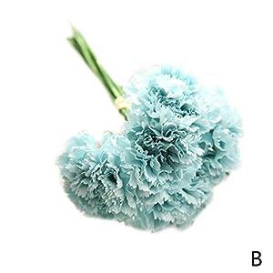 Elibone 2019 Wedding Bouquet Bridal Hydrangea Decor Hot Artificial Silk Fake Flowers Peony Floral Natural Lifelike Fake Flower Decor,B 35