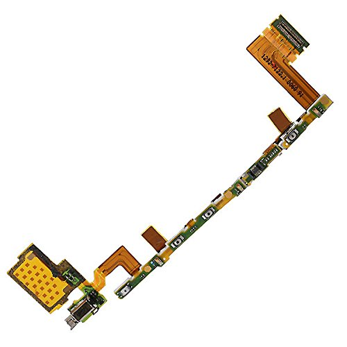 BisLinks Volume Power Button Vibrating Flex Cable For Sony Xperia Z5 E6603
