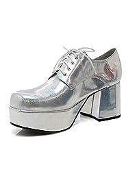 70's Men's Gold Pimp Shoe