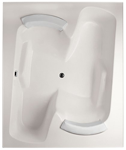 Hydro Systems PEN7260GTA-WHI-WOV.PN Penthouse Gel Coat Tub Thermal Air System (Drain Included), White/Polished Nickel (Penthouse Tub Coat Gel)