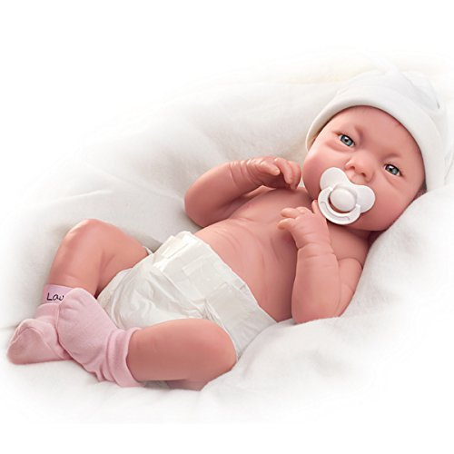Tinneke Janssens A Lovely Gift Is Little Lauren So Truly Real Lifelike Baby Doll - 15-1/2
