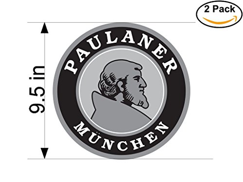 paulaner-munchen-beer-logo-alcohol-4-vinyl-stickers-decal-bumper-window-bar-wall-95-inches