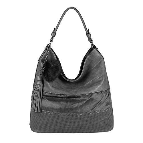 De Only Braun Mujer Para Cm Obc couture bxhxt beautiful Marrón Grau Bolso Ca 33x30x12 35x34x17 Tela 42x32x16 wIHq1dH