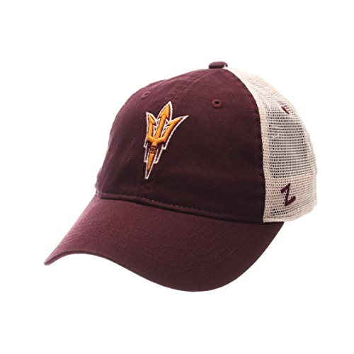 NCAA Arizona State Sun Devils Men's University Relaxed Cap, Adjustable Size, Team Color/Stone ()
