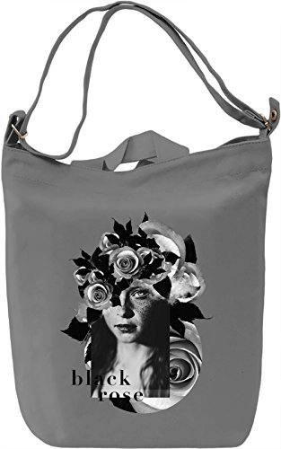 Rose Borsa Giornaliera Canvas Canvas Day Bag| 100% Premium Cotton Canvas| DTG Printing|