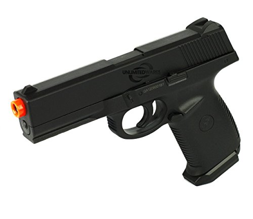DOUBLE EAGLE M27 AIRSOFT SPRING HAND GUN PISTOL w/ LOCKING SLIDE BBs BB ()