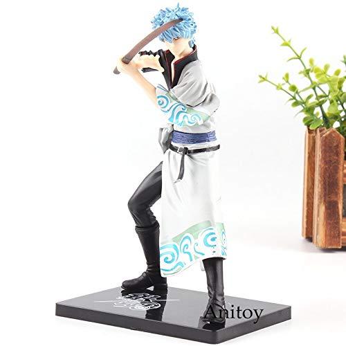 Amazon.com: 17cm (6.7 inch) Silver Soul Gintama Sakata Gintoki PVC Figure: Toys & Games