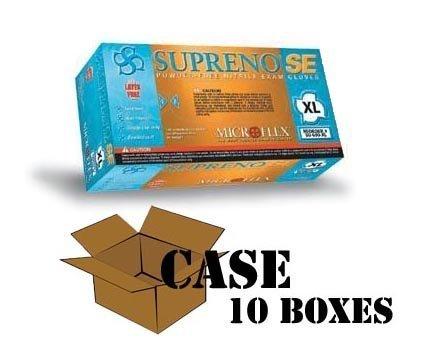 Se Powder - Microflex - Supreno SE Powder-Free Nitrile Gloves - Case - Size: X-Large