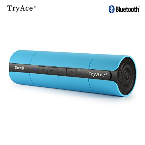 TryAce Bluetooth Speakers Wireless Portable Boombox,Stereo B
