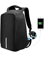 Tocode Anti-theft Laptop Backpack with Usb Charging Port Fits Under 15.6 Inch Laptop, Lightweight Water Resistant...
