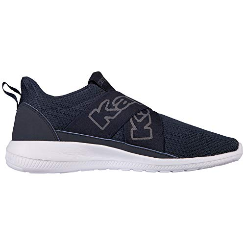 Xl Kappa Bleu Faster Ii grey Homme navy Sneakers Basses 6716 7SxEFqTS