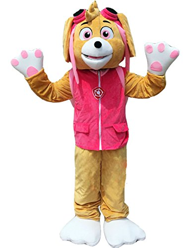 [ZYZB Dog Mascot costume Cartoon Character Costume (L- 5'9