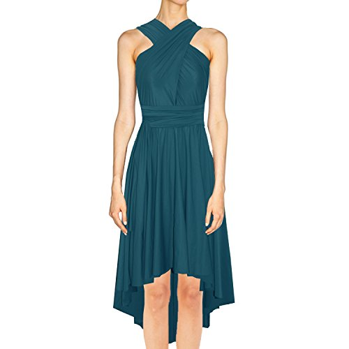 high low bandeau dress - 3