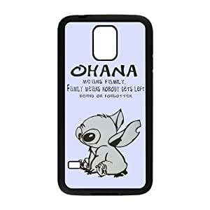 Fashion Lilo and Stitch OHANA Hard Case Shell Cover Skin Cases for Samsung Galaxy S5 SV