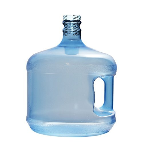 3 Gallon Water (BPA-Free Reusable Plastic Water Bottle Gallon Jug Container - Made in USA (3 Gallon))