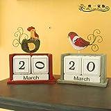 Labu Store Wood Creative Calendar DIY Calendar