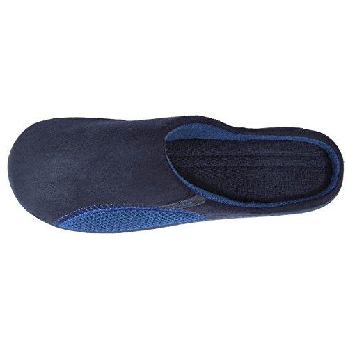 Herren-Pantoffeln mit grafischem Detail Isotoner 40