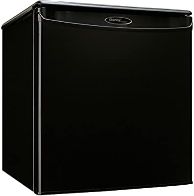 Premium Mini Fridge Appliances Compact Small Apartment Size Refrigerator In Black