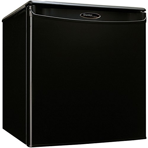 Danby DAR017A2BDD Designer 1.8 cu ft Reversible Door, Removable Wire Shelves, All Refrigerator 120 volts, Black