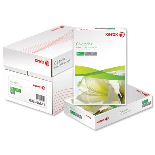 Xerox Colotech Plus carta per fotocopie PREMIUM Risma 500Fogli, 90g/mq, formato A3, colore: 003r98839[] 513642