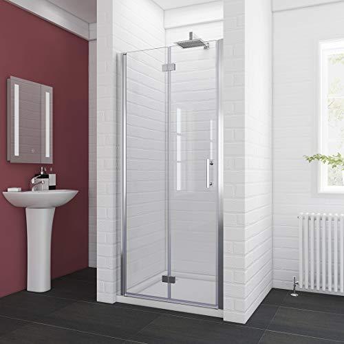 (SUNNY SHOWER Semi-Frameless Shower Door 34