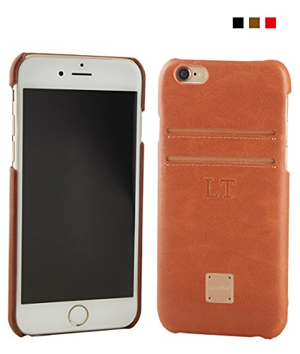 (Vintage Leather RFID iPhone Wallet Case, Truffol Intelli iPhone 6/6s (4.7