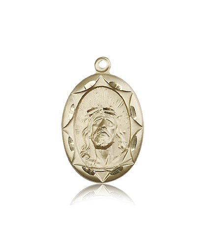 14kt Gold Ecce Homo Medal