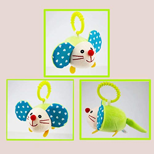 Albeey Infant Baby Aktivit/ät Spirale Pl/üschtier Bett Kinderbett Kinderwagen Spielzeug H/ängen Babyrassel Spielzeug f/ür Neugeborene M/ädchen Jungen Kleinkinder