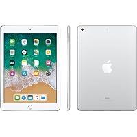 Apple 9.7 iPad (Early 2018, 128GB, Wi-Fi + 4G LTE, Silver)